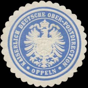 K. Deutsche Ober-Postdirection Oppeln