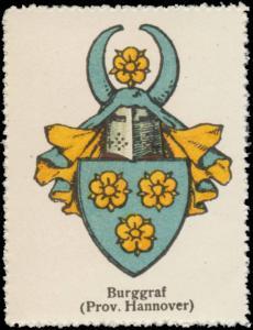 Burggraf (Hannover) Wappen