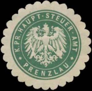 K.Pr. Haupt-Steuer-Amt Prenzlau