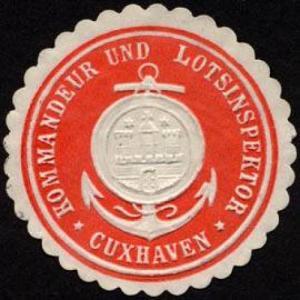 Kommandeur und Lotsinspektor - Cuxhaven