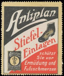 Antiplan Stiefel-Einlagen