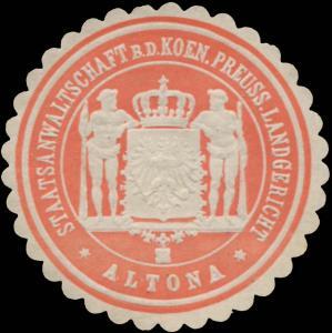 Staatsanwaltschaft b.d. Pr. Landgericht Altona