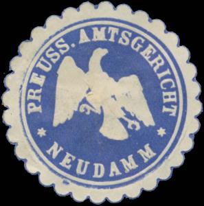 Pr. Amtsgericht Neudamm
