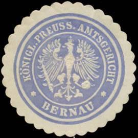 K.Pr. Amtsgericht Bernau