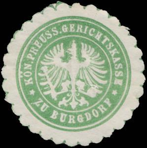K.Pr. Gerichtskasse zu Burgdorf