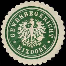 Gewerbegericht - Rixdorf