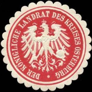 Der Königliche Landrat des Kreises Osterburg