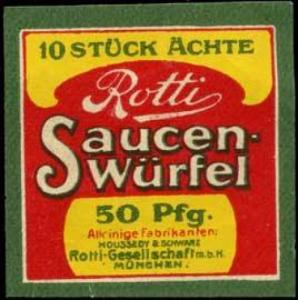 Rotti Saucen - Würfel