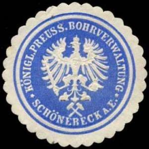K: Pr.Bohrverwaltung Schönebeck an der Elbe
