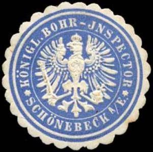 Königlicher Bohr-Inspector - Schönebeck an der Elbe