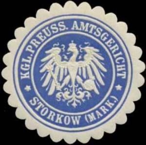 K.Pr. Amtsgericht Storkow/Mark