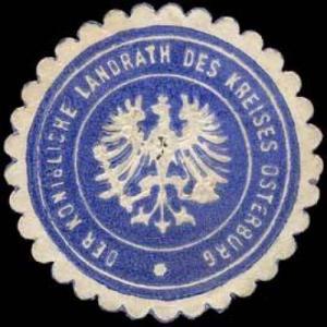 Der Königliche Landrath des Kreises Osterburg