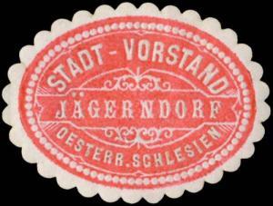 Stadt-Vorstand Jägerndorf Österreich-Schlesien