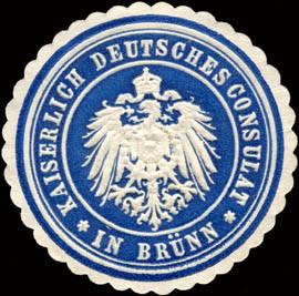 Kaiserlich Deutsches Consulat in Brünn