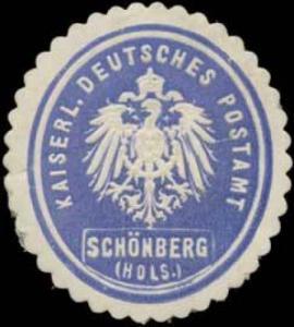 K. Deutsches Postamt Schönberg/Holstein