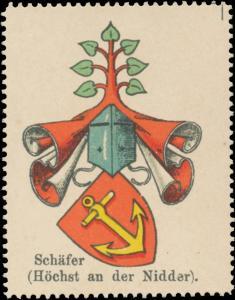 Schäfer Wappen (Höchst an der Nidder)