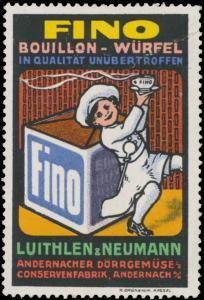 Fino Bouillon-Würfel