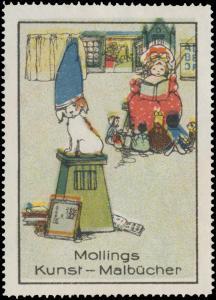 Mollings Kunst-Malbücher