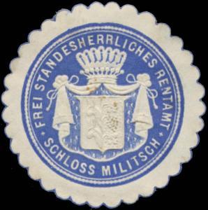 Frei Standesherrliches Rentamt Schloss Militsch