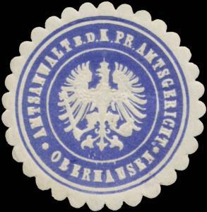 Amtsanwalt b.d. K.Pr. Amtsgericht Oberhausen