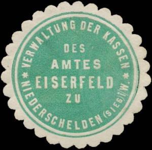 Verwaltung der Kassen des Amtes Eiserfeld zu Niederschelden (Sieg)