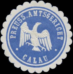 Pr. Amtsgericht Calau