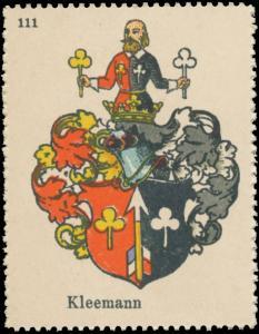 Kleemann Wappen