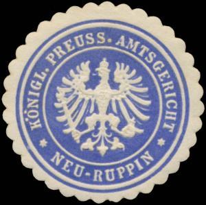 K.Pr. Amtsgericht Neuruppin