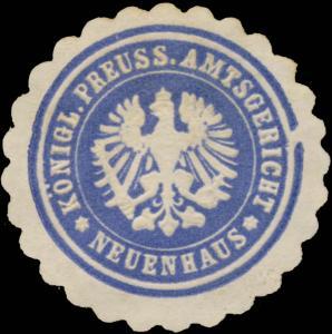 K.Pr. Amtsgericht Neuenhaus