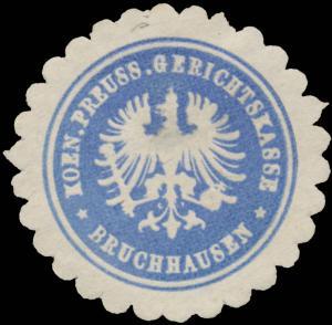 K.Pr. Gerichtskasse Bruchhausen