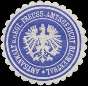 Amtsanwalt b.d. K.Pr. Amtsgericht Blumenthal