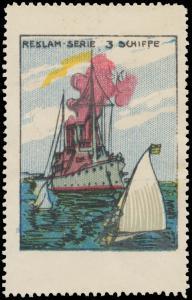Schiff, Dampfer, Segelschiff