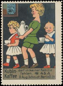 Kubin Kaffee darf in keiner Familie fehlen