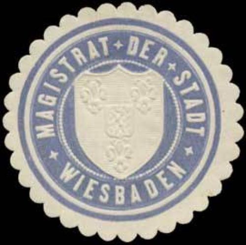 Magistrat der Stadt Wiesbaden Nr. W0372215 - oldthing ...