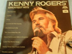 lp,kenny rogers greatest hits