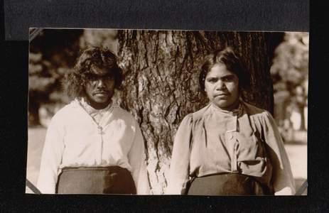 Australien. Eingeborenen.