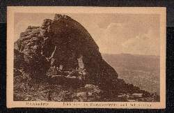 Riesengebirge Blick uber die Pferdekopfsteine nach Schreiberhau.
