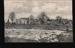 Labiau. Zerstörtes Torfwerk. Kriegsbilder 1941.