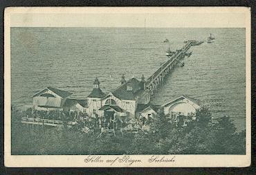 Sellin auf Rügen. Seebrücke.