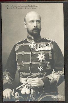 Johann Albrecht, Herzog zu Mecklenburg