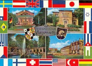 Festspielstadt Bayreuth. Richard Wagner.