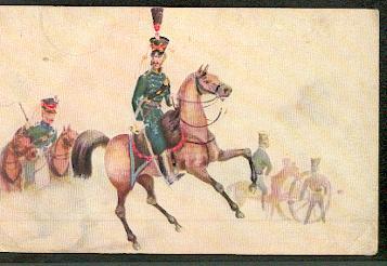 Reitende Artillerie 1814.