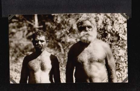 Australien. Eingeborene.