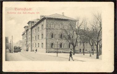 Darmstadt. Kaserne des Inf. Regts. 115.
