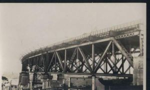 Australien. Sydney Brücke. Foto.