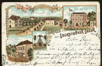 Lockstedter Lager. Totalansicht, Hotel Kaiserhof