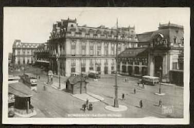 Bordeaux. La Gare St Jean.