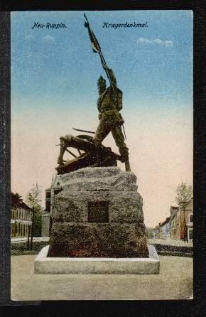 Neuruppin. Kriegerdenkmal