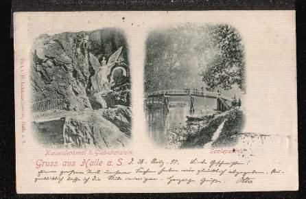 Halle a. S. Kaiserdenkmal b. Giebichenstein