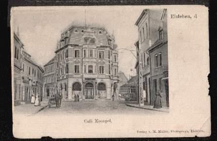 Eisleben. Cafe Monopol